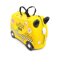 NEW TRUNKI RIDE ON SUITCASE TOY BOX CHILDREN KIDS LUGGAGE - TAXI TONY