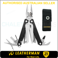 LATEST 2018 Leatherman CHARGE TTI + PLUS TITANIUM Multi Tool Knife & Sheath AUTHAUSDEALER