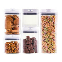 AVANTI 5 Piece Flip Top Starter Pack Air Tight Containers 5pc