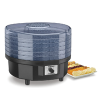 New Cuisinart DHR-20A Food Dehydrator w/Thermostat Dryer Jerky Herbs Fruit