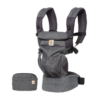 New Ergobaby Omni 360 Cool Air Mesh All-In-One Baby Carrier - Classic Weave