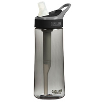 CAMELBAK GROOVE .6L 600ML BPA FREE SPILL PROOF FILTERED WATER BOTTLE - GRAPHITE