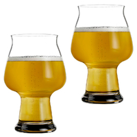 NEW Luigi Bormioli Birrateque Cider Glass 500ml , Set of 2