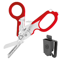 New Leatherman RAPTOR Multi Tool Folding Shears & Holster , RED