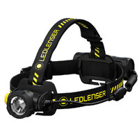 LED Lenser H7R WORK 1000 Lumen Rechargeable Focusable Head Torch Flashlight
