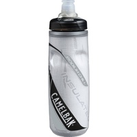 CAMELBAK PODIUM CHILL INSULATED .62L 620ML BPA FREE BIKE WATER BOTTLE - CARBON