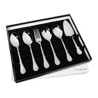 New STANLEY ROGERS BOLERO Hostess 6 Piece Stainless Steel 6pc Serving Set