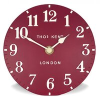 New Thomas Kent Mulberry Red 30cm Wall Clock