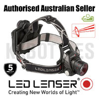 "Led Lenser H14R.2 Head Torch Rechargeable - 850 lumens ZL7299R ""FREE POSTAGE"""