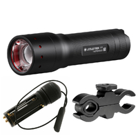 NEW Led Lenser P7.2 W/ Gun Mount & Pressure Switch - 320 lumens  ZLLL1200LA SAVE