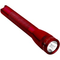 "NEW MAGLITE 2AA FLASHLIGHT RED MADE IN USA ""FREE POSTAGE"""