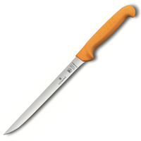 "SWIBO 20cm / 8"" Flexible Victorinox Filleting Knife 5.8449.20 Hunting Fish"