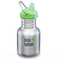 NEW KLEAN KANTEEN KID 355ml 12oz SIPPY BRUSHED STAINLESS BPA FREE Water Bottle SAVE !