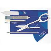 SWISS ARMY KNIFE Card Blue Sapphire VICTORINOX Free Postage