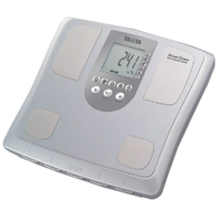 "BODY SCALE Tanita Body Composition Scales - BC541, Silver BC54001 ""FREE POSTAGE"""