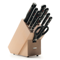 New Wusthof Trident Classic 10pc Trident Classic Knife Block Set , 9842-8W , Made in Germany