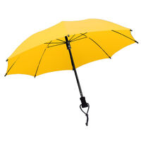 EUROSCHIRM BIRDIEPAL OUTDOOR LIGHTWEIGHT DURABLE TREKKING UMBRELLA- YELLOW SAVE!