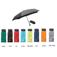 EUROSCHIRM DAINTY MICRO LIGHTWEIGHT DURABLE TREKKING UMBRELLA - ASRTD COLOURS