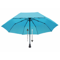 EUROSCHIRM LIGHT TREK AUTOMATIC LIGHTWEIGHT DURABLE TREKKING UMBRELLA - ICE BLUE