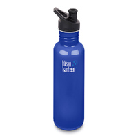 KLEAN KANTEEN 27oz 800ml COASTAL WATERS Classic BPA FREE WATER BOTTLE