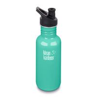 KLEAN KANTEEN Original 18oz  532ml Organic Garden Green BPA Free Water Bottle