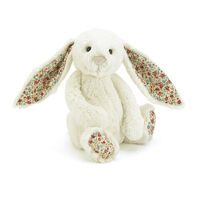 "BLOSSOM BASHFUL CREAM BUNNY MEDIUM  ""FREE POSTAGE"" BL3CBN"