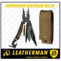 Leatherman Black MUT EOD Stainless Steel MultiTool & Molle Sheath *AUTHAUSDEALER