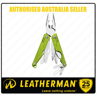 Leatherman LEAP Stainless Steel GREEN Multi Tool W/ Pliers Youth *AUTHAUSDEALER*