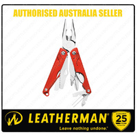 Leatherman LEAP Stainless Steel RED Multi Tool W/ Pliers Youth *AUTHAUSDEALER*