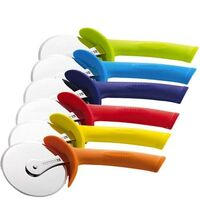 SCANPAN SPECTRUM SOFT TOUCH PIZZA CUTTER WITH SHEATH - 6 COLOURS BRAND NEW SAVE!