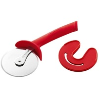 Scanpan Spectrum Soft Touch Pizza Cutter With Sheath - Red Colour Brand New