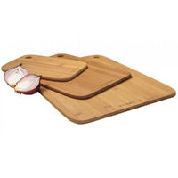 New SCANPAN Bamboo 3 Piece Cutting Board Set 3pc FREE POST