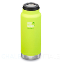 KLEAN KANTEEN TKWIDE INSULATED 32oz 946ml LIME JUICY PEAR BPA FREE Water Bottle
