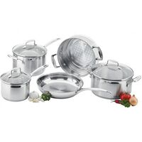 SCANPAN IMPACT 5PC PIECE COOKWARE SET STAINLESS STEEL WEDDING HOUSEWARMING SAVE