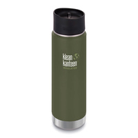 NEW KLEAN KANTEEN INSULATED WIDE 20oz 591ml FRESH PINE BPA FREE Water Tea Coffee Soup