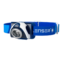 LED LENSER SEO 7R Head Torch Rechargeable Headlamp - BLUE 220 Lumens