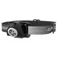LED LENSER SEO 7R Head Torch Rechargeable Headlamp - BLACK 220 Lumens