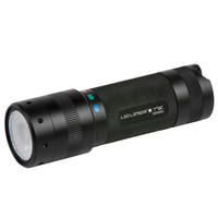 LED LENSER T SQUARE QC Torch 4 Colour Tactical Flashlight 140 Lumens