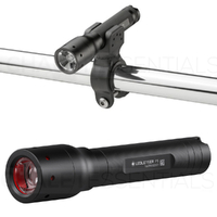 New Genuine LED LENSER P5 Torch Flashlight 140 Lumens & BIKE CLAMP ZL7799PT5