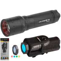 New LED LENSER T7M Torch Flashlight 400 Lumens & Intelligent Filter