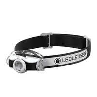 New LED LENSER MH3 Head Torch Headlamp - BLACK 200 Lumens AUTH AUS SELLER