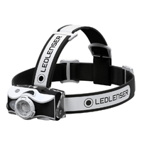 New LED LENSER MH7 Head Torch Headlamp - BLACK 600 Lumens AUTH AUS SELLER