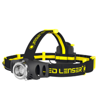 LED LENSER iH6R Head Torch Industrial Rechargeable Headlamp 200L AUTHAUSSELLER