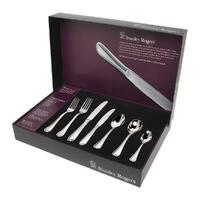 New STANLEY ROGERS CLARENDON 56 Piece Stainless Steel 56pc Cutlery Set 50563
