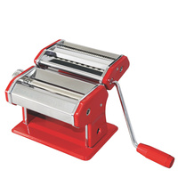 New AVANTI RED Stainless Steel 150mm Adjustable Pasta Making Machine 12300 Save!