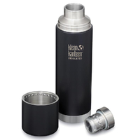 KLEAN KANTEEN TKPRO Insulated 1L 32oz SHALE BLACK Drink Bottle Bpa Free