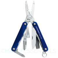 New Leatherman SQUIRT ES4 9in1 Multi Tool Electrician W/Wire Strippers - Blue  *AUTH AUS DEALER*