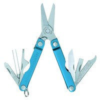 New Leatherman MICRA 10in1 Multi Tool Scissors Keychain Knife - Blue *AUTH AUS DEALER*