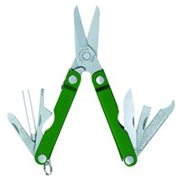 New Leatherman MICRA GREEN Stainless Multi Tool w/ Scissors Knife