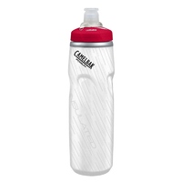 CAMELBAK PODIUM BIG CHILL INSULATED 750ML BPA FREE BIKE WATER BOTTLE - CRIMSON CB52486